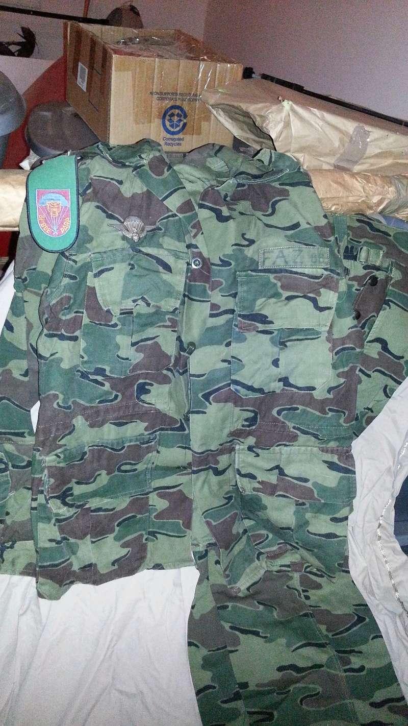 Zaire Army 31st Parachute Brigade Items 20140612