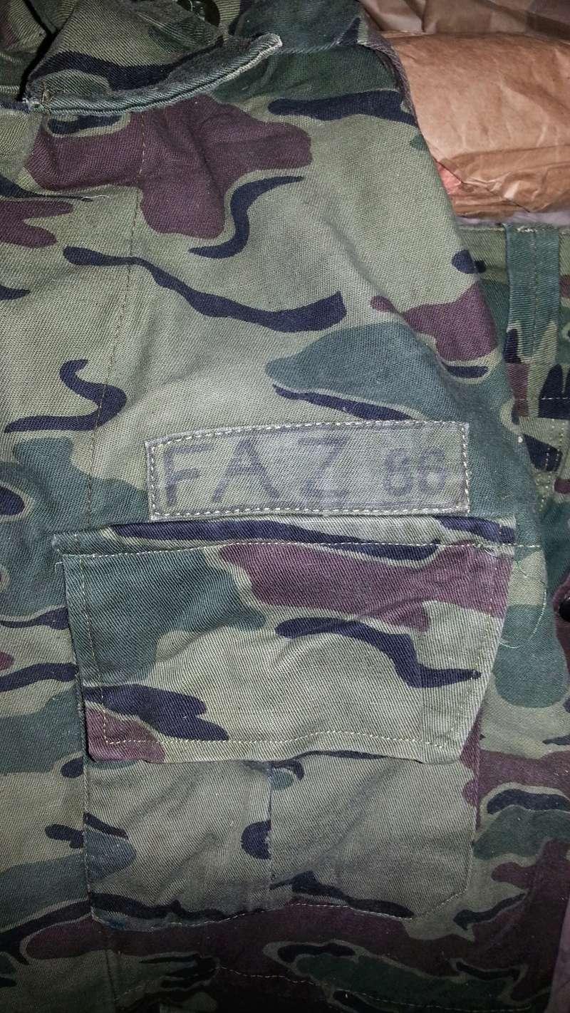 Zaire Army 31st Parachute Brigade Items 20140613