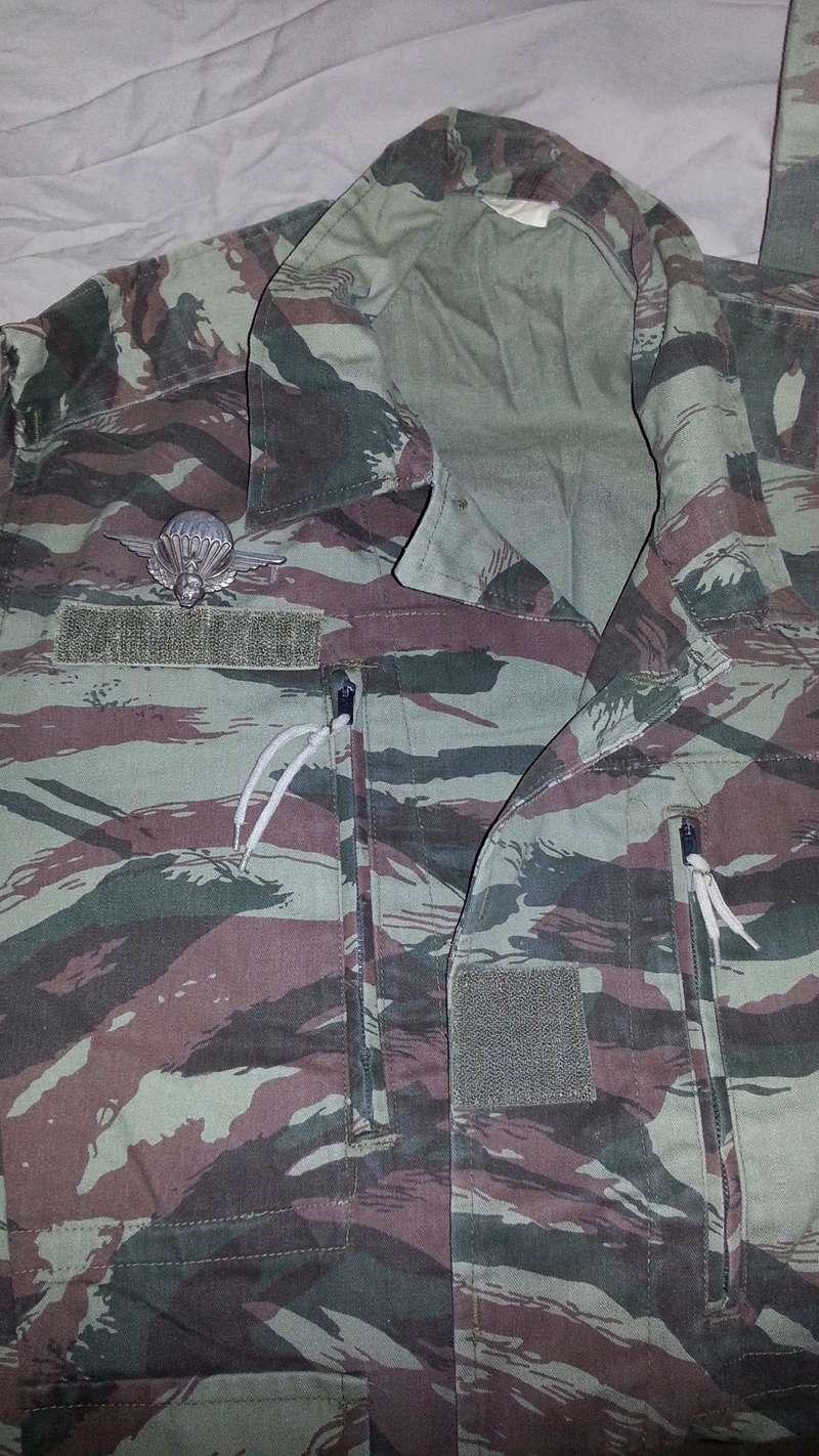 Zaire Army 31st Parachute Brigade Items 20140614