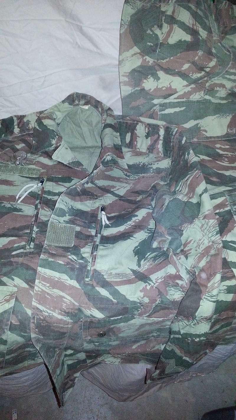 Zaire Army 31st Parachute Brigade Items 20140615