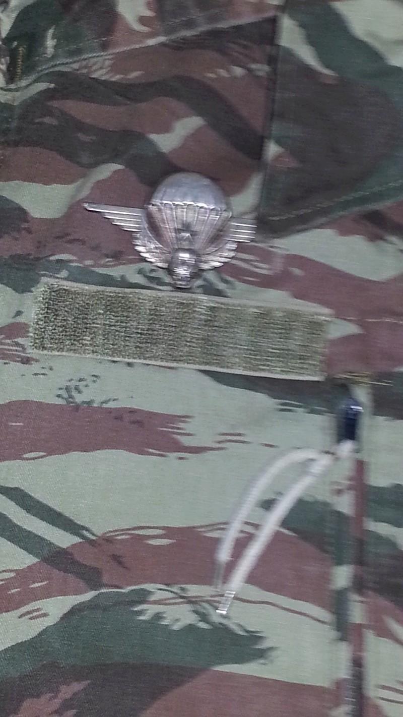 Zaire Army 31st Parachute Brigade Items 20140616