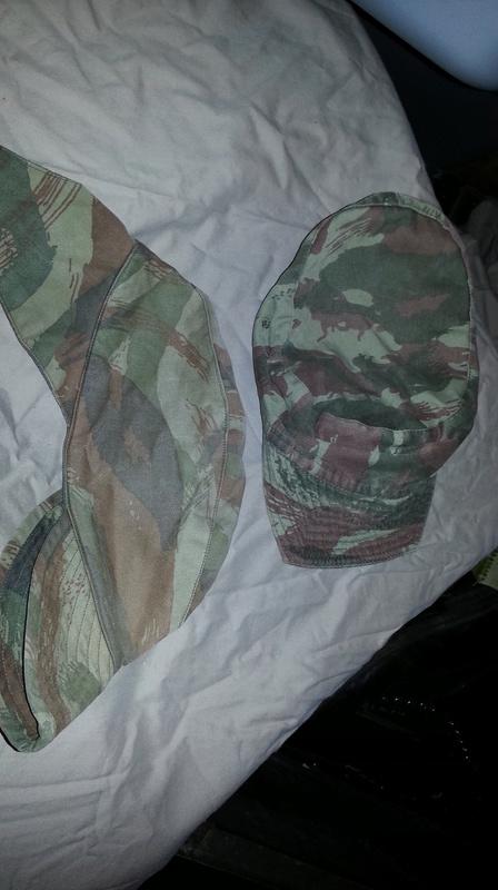 Zaire Army 31st Parachute Brigade Items 20140617