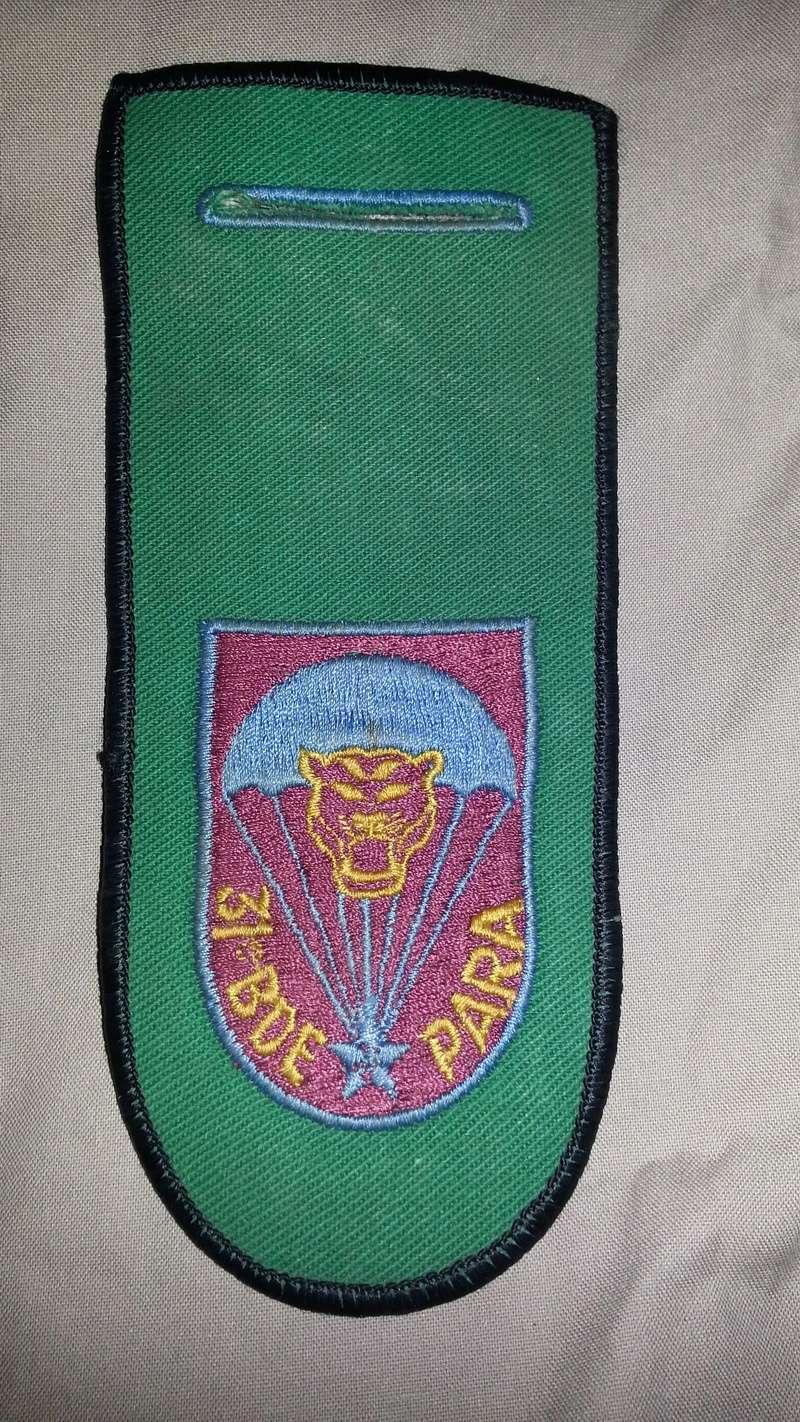 Zaire Army 31st Parachute Brigade Items 20140621