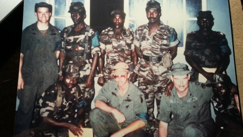 Zaire Army 31st Parachute Brigade Items 20140623