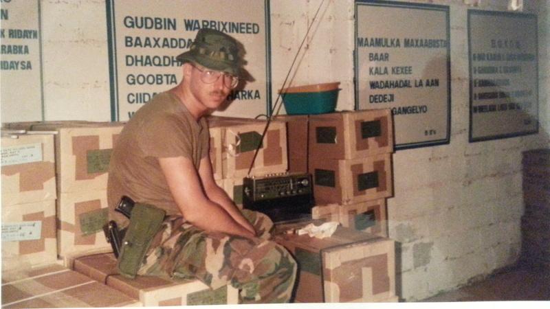 Pre-Restore Hope Somalia Deployment Insignia 20140631