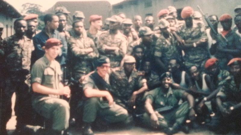 Zaire Army 31st Parachute Brigade Items 20141110