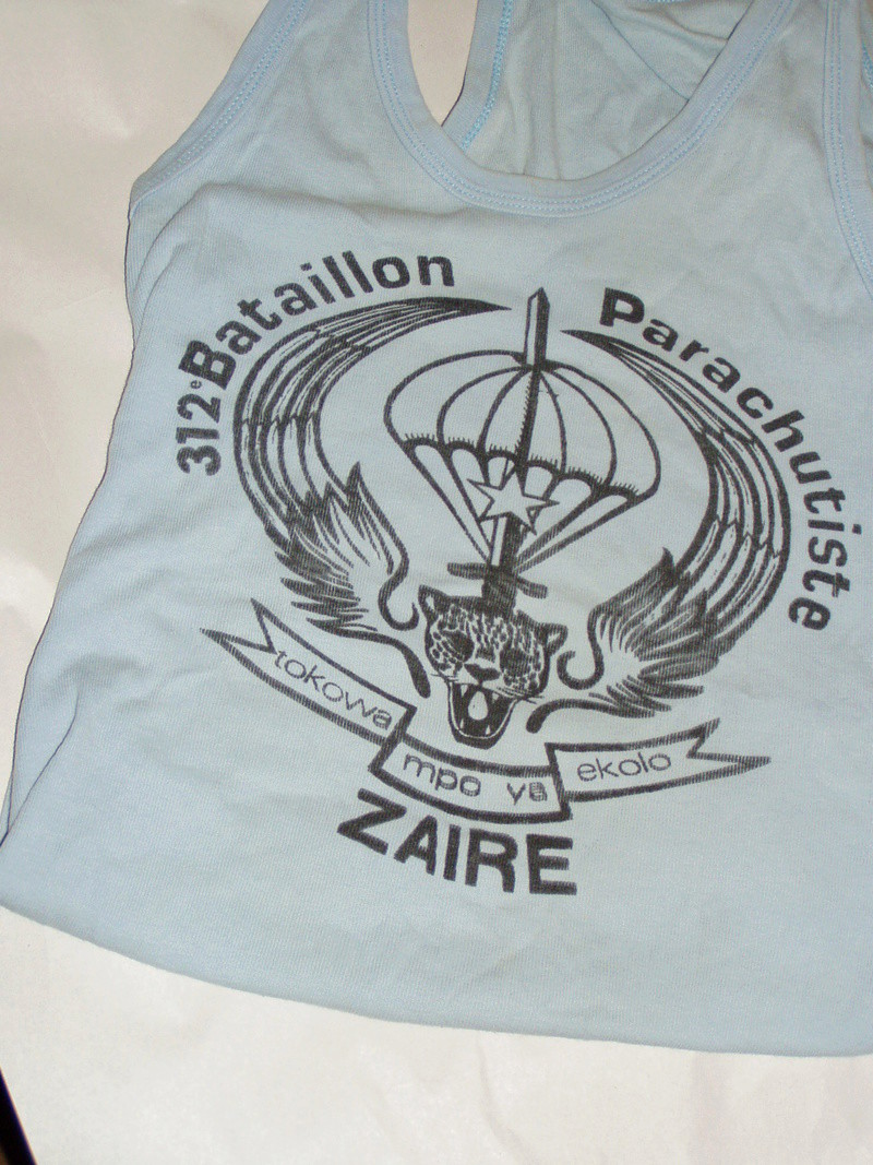 Zaire Army 31st Parachute Brigade Items P1010011