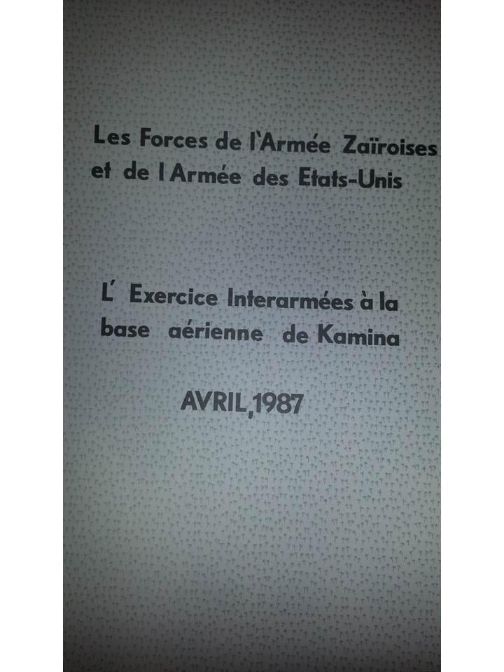 Zaire Army 31st Parachute Brigade Items Slide110