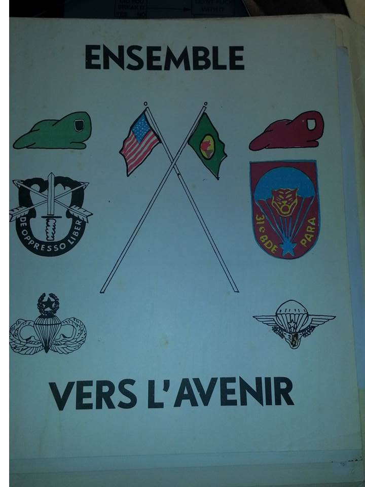 Zaire Army 31st Parachute Brigade Items Slide111