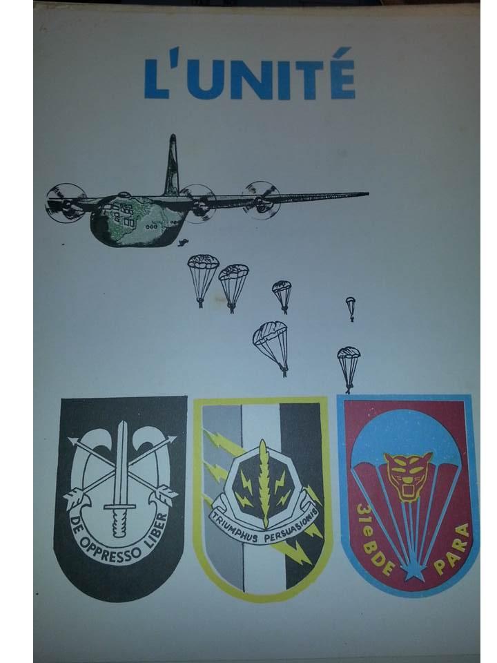 Zaire Army 31st Parachute Brigade Items Slide112