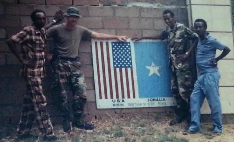 Pre-Restore Hope Somalia Deployment Insignia Somali12