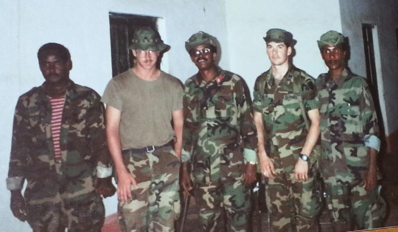 Pre-Restore Hope Somalia Deployment Insignia Somali14