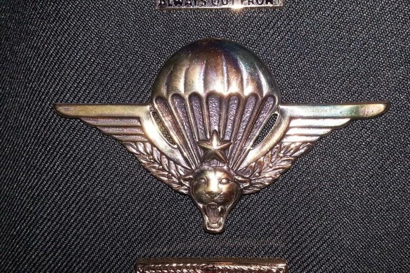 Zaire Army 31st Parachute Brigade Items Zaire_11