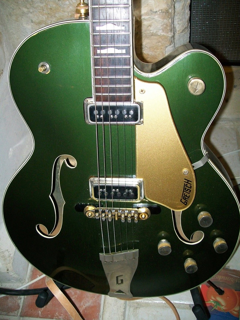 Gretsch Duo Jet 6128T-1957 & Space Control Bridge 100_4110