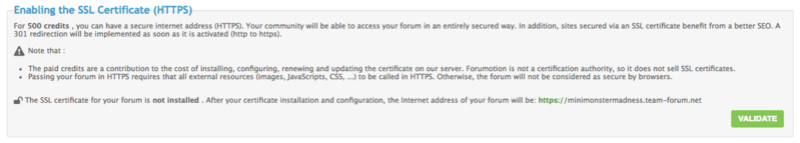 New: SSL certificates are now available for EVERY Forumotion Forums Screen31