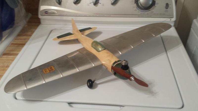 Thimble-Drome TD-1 Airplane Thimbl10