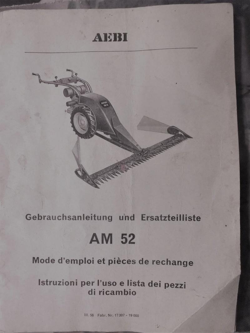 Aebi - recherche toute doc motofaucheuse AEBI AM 52 Dscf7831