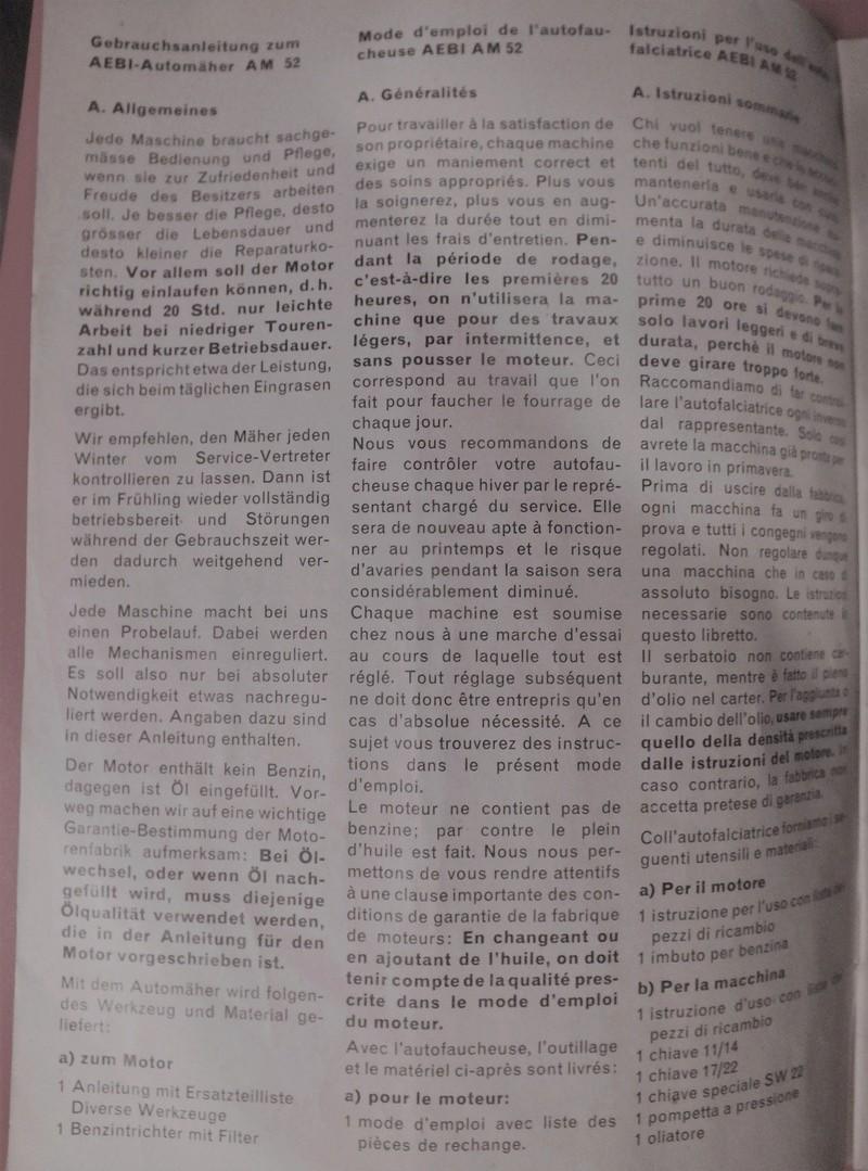 Aebi - recherche toute doc motofaucheuse AEBI AM 52 Dscf7834