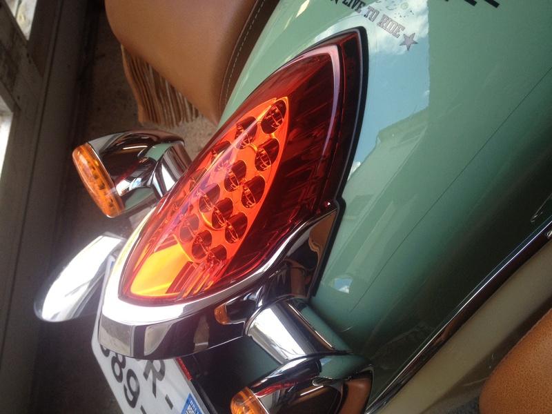 KURYAKIN Taillight Top Trim (enjoliveur de feu arrière) Fullsi10