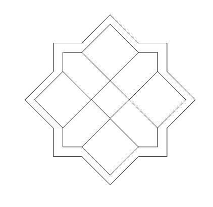 Il quadrato a pezzi Cornic11