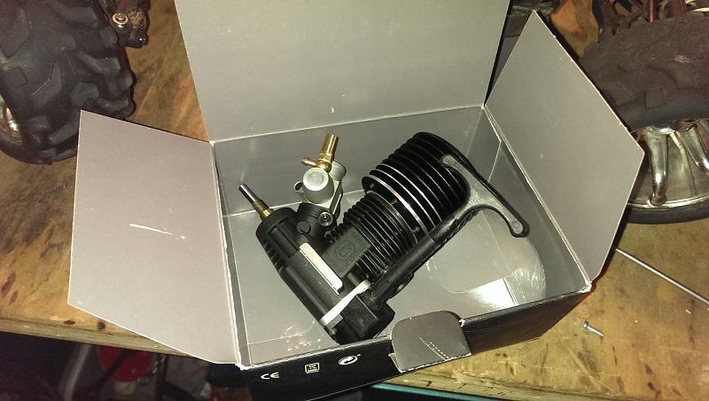 Problem mit neuem Motor (Schwungscheibe) Motor110