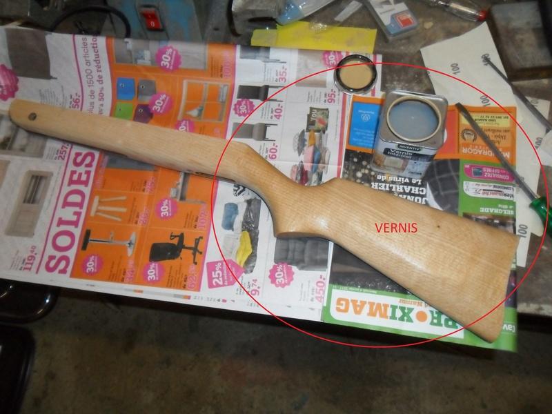 Carabine à plomb Diana 24 rénovation - Page 3 Sam_7146
