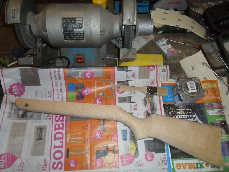 Carabine à plomb Diana 24 rénovation - Page 3 Sam_7149