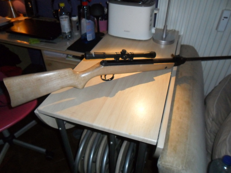 Carabine à plomb Diana 24 rénovation - Page 3 Sam_7150