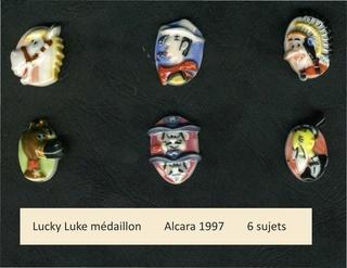 Lucky Luke médaillon 1997 Lucky_10