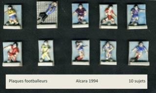 Plaques footballeur 1994 Plaque10