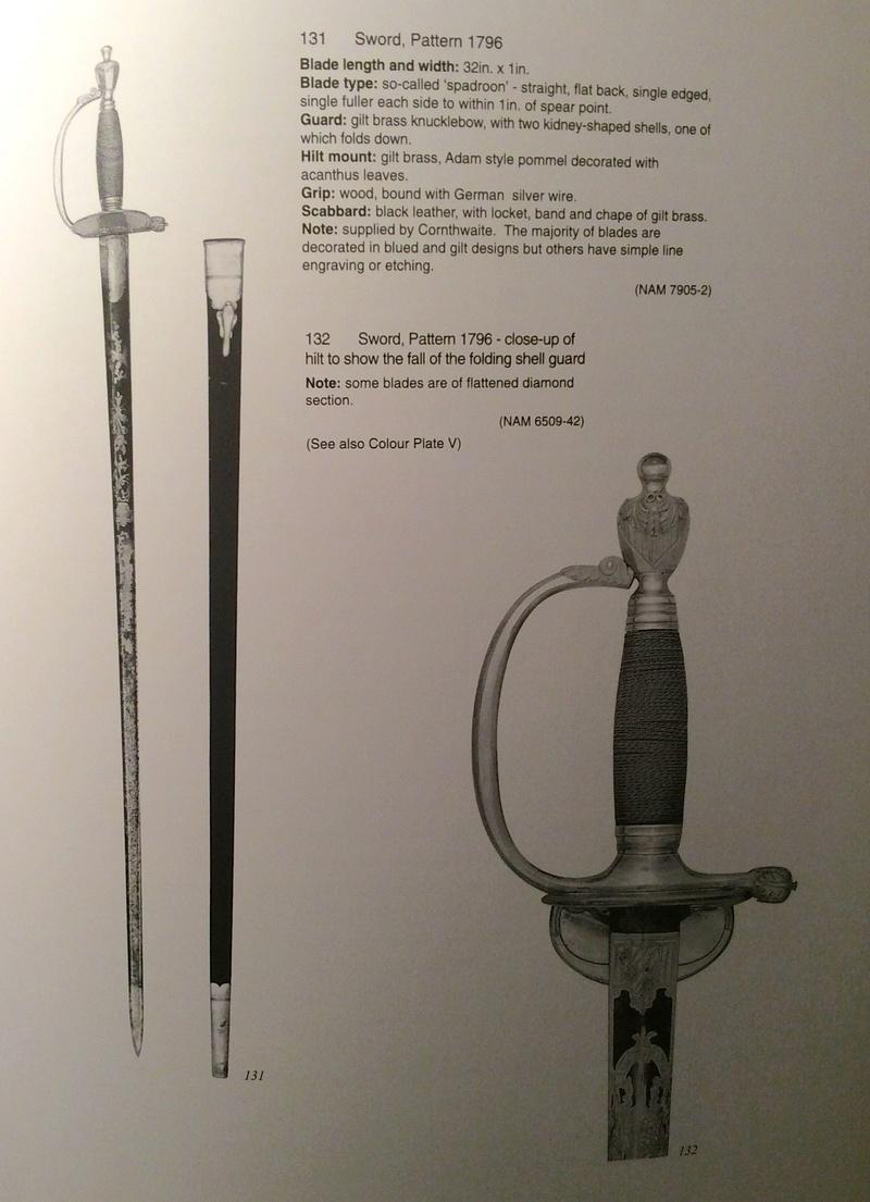 Epée d'officier infanterie anglaise epoque Napoléonienne ????? Img_1110
