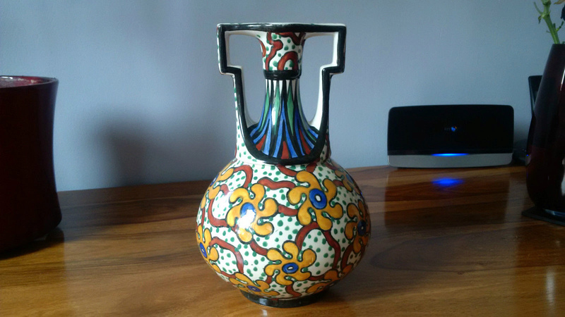 Italian Vase with unknown makers marks S-l16047