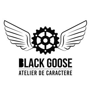 Création de ma marque: Black Goose Logo-w10