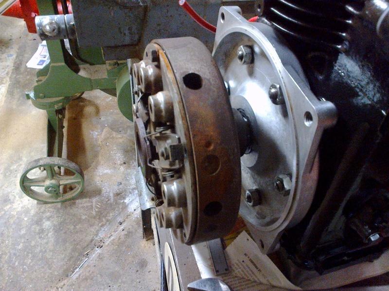 Aebi - Embrayage pour moteur Mag sur AEBI AM 80 30122011