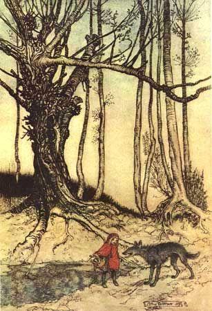 La véritable histoire du Petit Chaperon Rouge en images Arthur10
