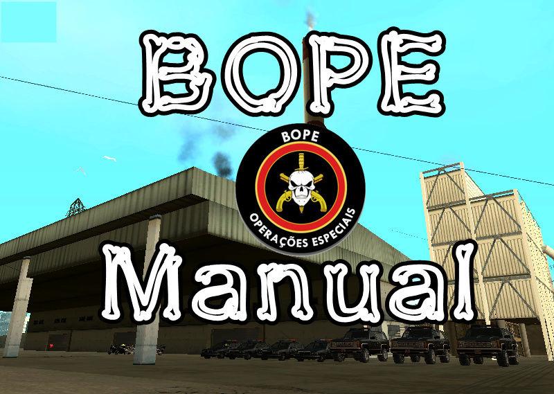 [MANUAL] B.O.P.E Bope111
