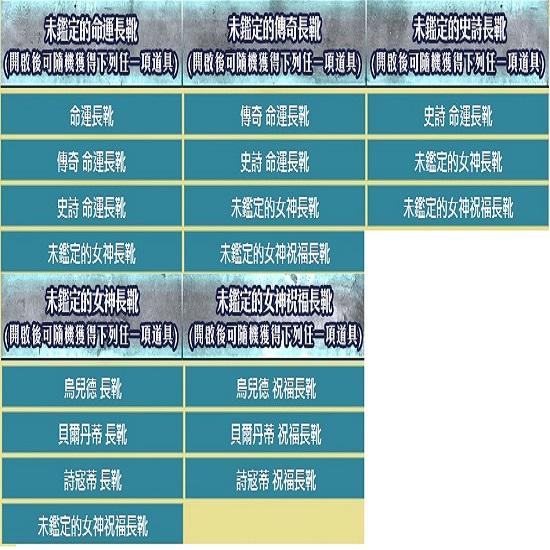 ☛武動【命運長靴】            00421910