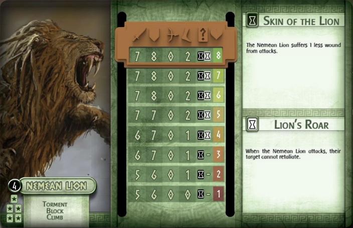 Nemean Lion Card Monste11