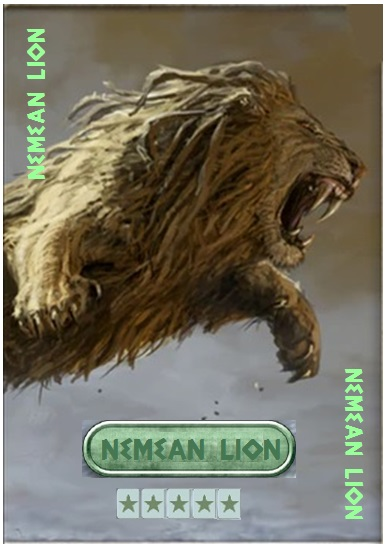 Nemean Lion Card Nemean10