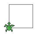 Il fiore verde Quadra10