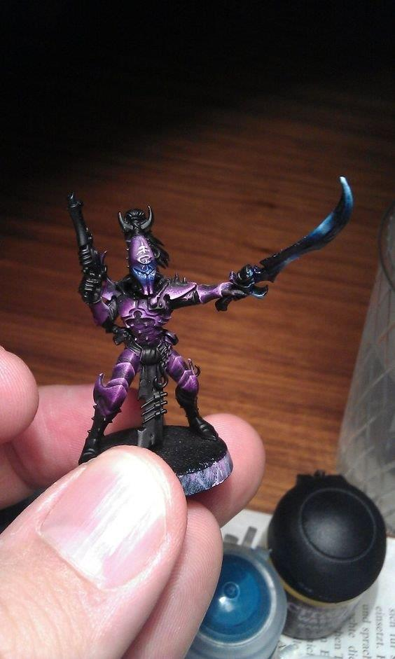 Painting Scheme Dark Elf style Purple10