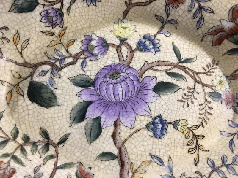Hand painted enamel bowl Image211