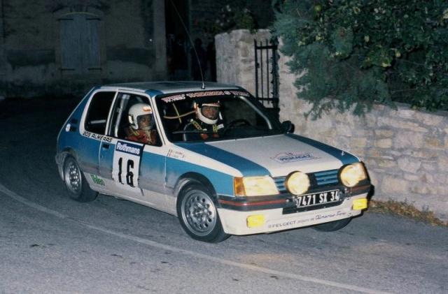 Replique 205 GTI Gr N de Jean Sébastien Couloumies 38759310