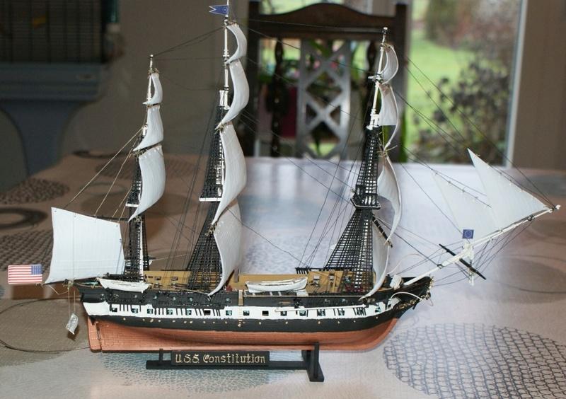 ( Revell  ) USS Constitution 1/83 ème Dsc08225