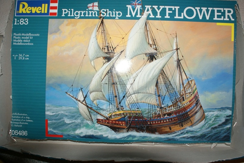 (Revell) Mayflower 1/83 ème Dsc08229