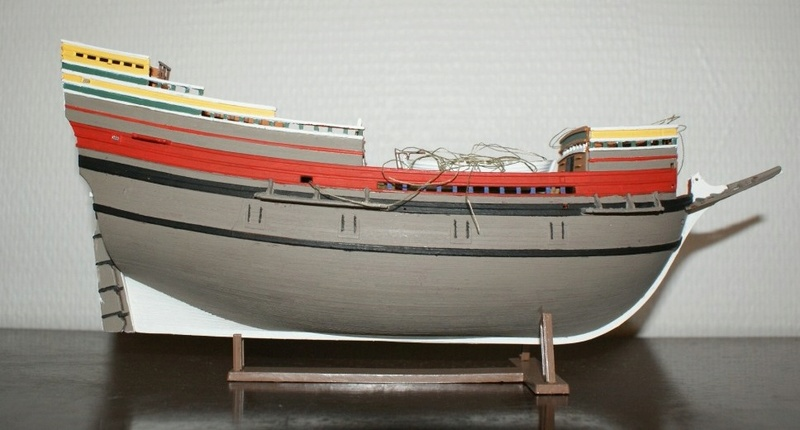 (Revell) Mayflower 1/83 ème Dsc08234