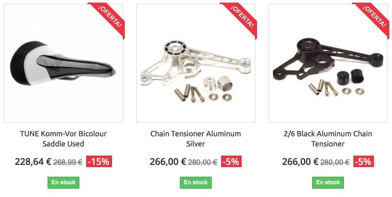 BRMadrid : boutique en ligne [pièces alternatives haute gamme pour Brompton] Promo_11