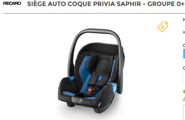 Siege auto BMW Recaro10