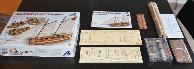 Endeavour Longboat - Artesania 1/50 Dsc_0510