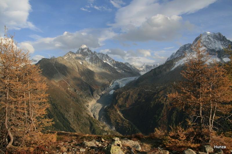 Randonnée dans les Alpes de Chamonix au col des Montets par le lac Blanc 0_10610